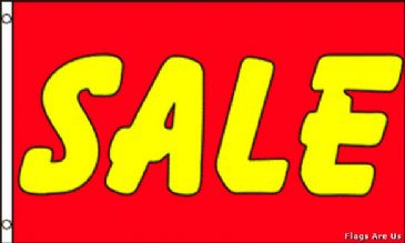 Sale  (Red & Yellow)